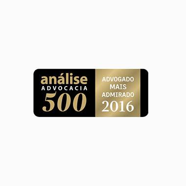 Análise Advocacia 2016 Caputo, Bastos e Serra Advogado