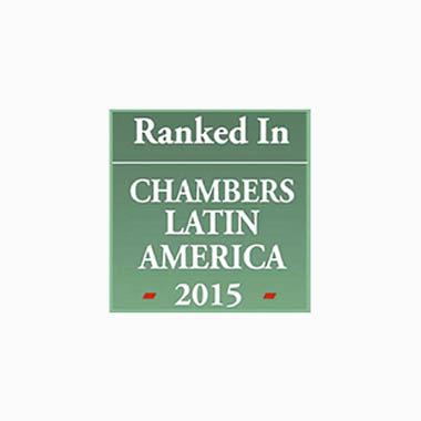 Ranked In Chambers Latin America 2015 Caputo, Bastos e Serra Advogado