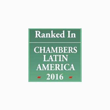 Ranked In Chambers Latin America 2016 Caputo, Bastos e Serra Advogado