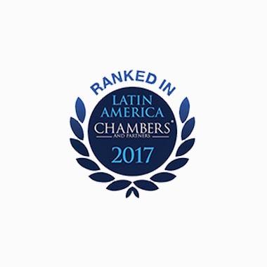 Ranked In Chambers Latin America 2017 Caputo, Bastos e Serra Advogado