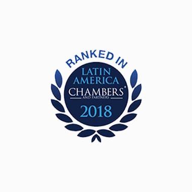 Ranked In Chambers Latin America 2018 Caputo, Bastos e Serra Advogado